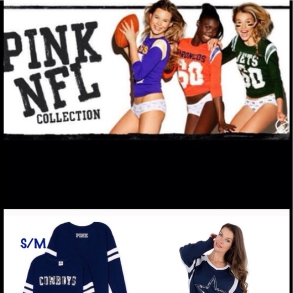 PINK Victoria's Secret Tops - ISO SIZE LARGE DALLAS COWBOYS